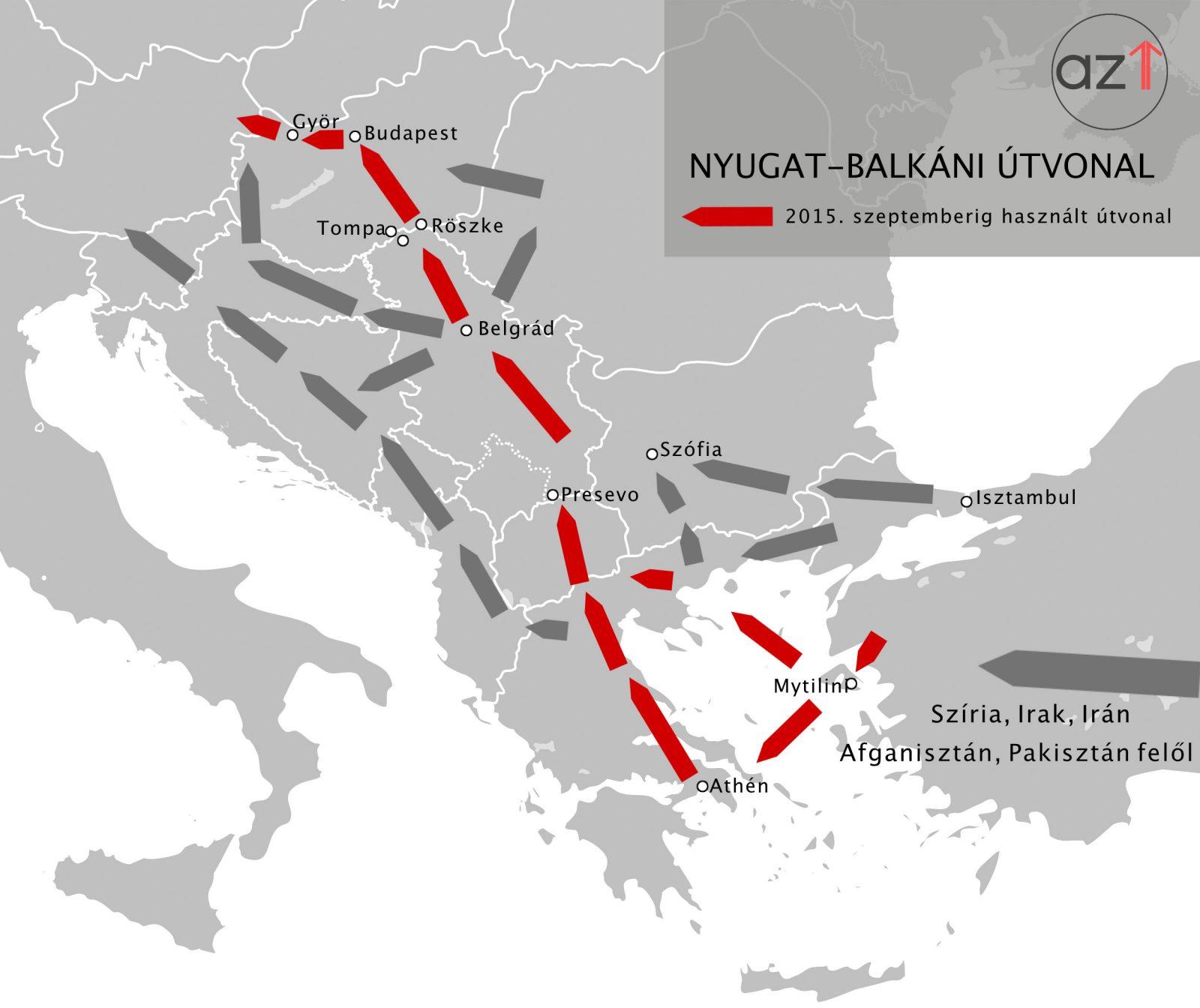 Hogyan érkeznek a menekültek Magyarországra?   AZ1.HU