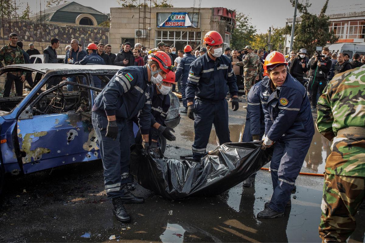 Rakétatámadás érte az azeri Barda városát   AZ1.HU