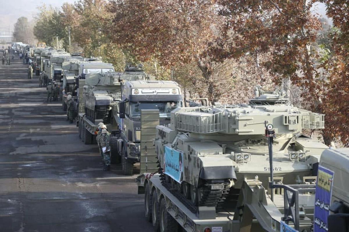 Iráni fegyverzet összevonás az azeri határon | AZ1.HU