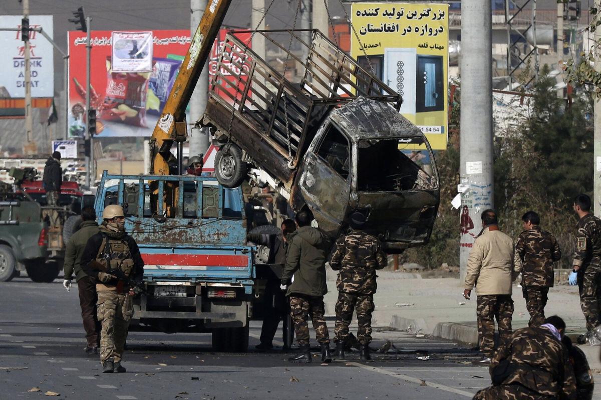 Rakátatámadás Kabulban   AZ1.HU